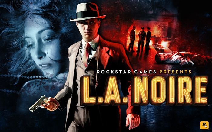LA Noire Game HD Desktop Wallpapers Views:9837