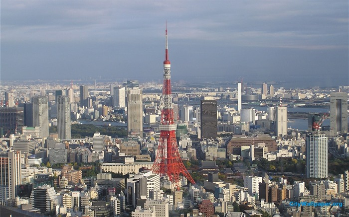 Tokyo Tower Japan Cities Landscape Photography Wallpaper 04 Views4706