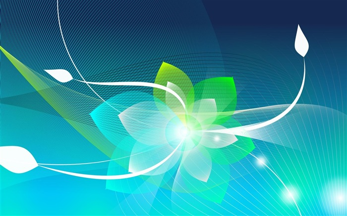 Wireframe Flower-Abstract creative design wallpaper Views:4270 Date:1/3/2013 10:49:08 PM