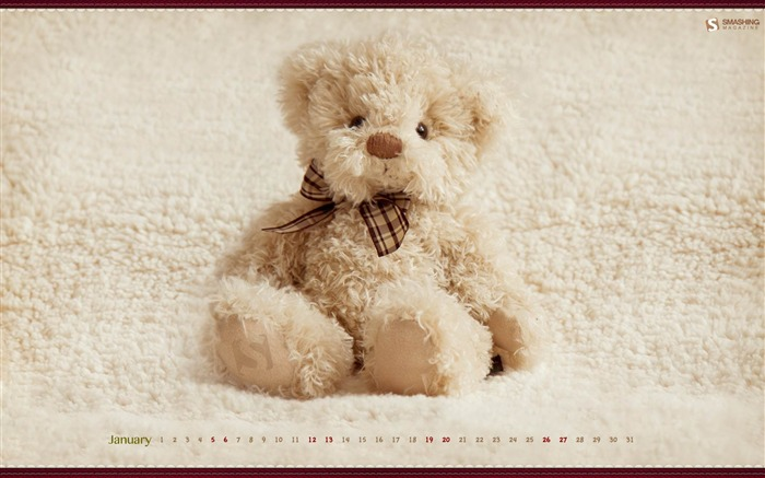 Woobie-January 2013 calendar desktop themes wallpaper Views:5560 Date:1/1/2013 5:32:57 AM