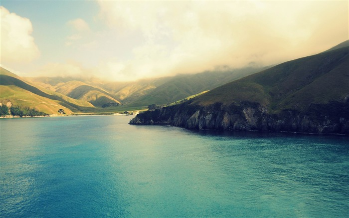 New Zealand travel beautiful landscape photography wallpaper Views:20704