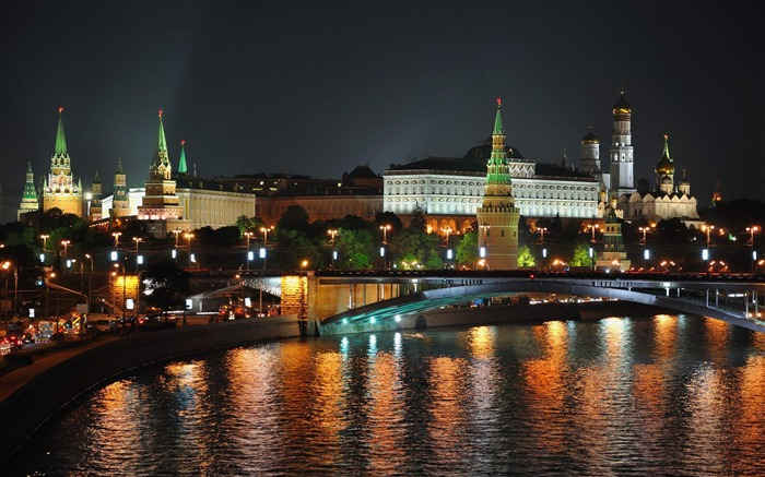moscow-Cities architectural landscape wallpaper Views:5398