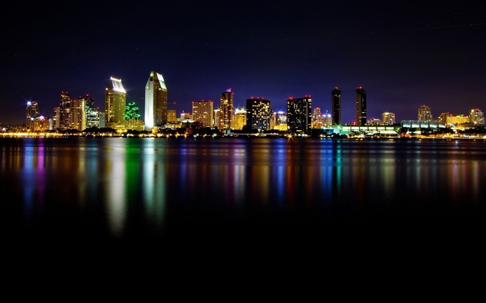 san diego-Cities architectural landscape wallpaper Views:3632