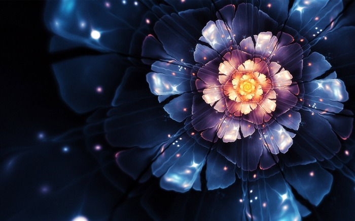 vector flower-Abstract creative design wallpaper Views:8275 Date:1/3/2013 10:48:20 PM