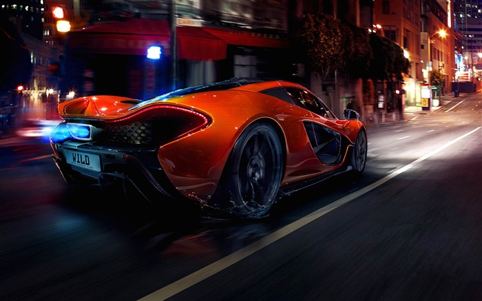 2014 McLaren P1 Auto HD Desktop Wallpapers Views:9686