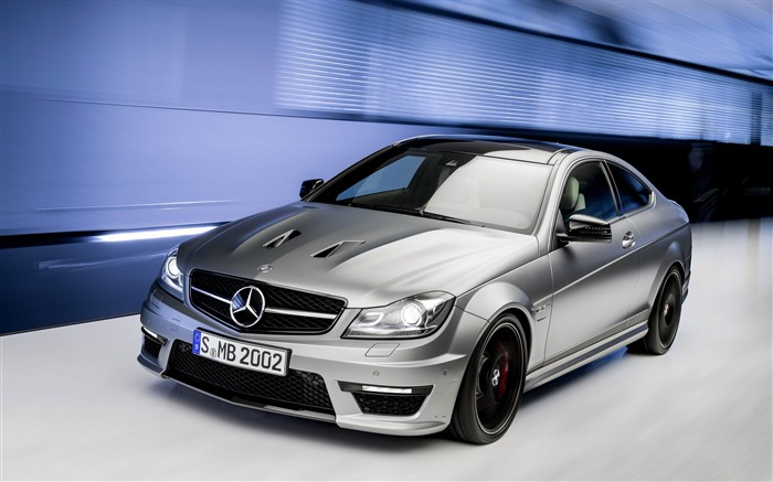 2014 Mercedes-Benz C63 AMG Edition 507 Auto HD Wallpaper Views:14662