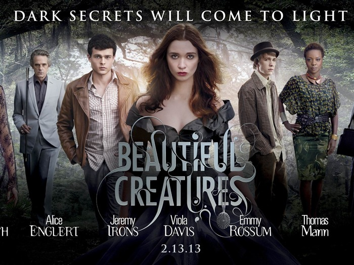Beautiful Creatures 2013 Movie HD Wallpapers Views:3465