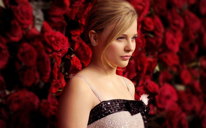 Chloe Moretz beauty actress HD photo wallpaper Views:31029