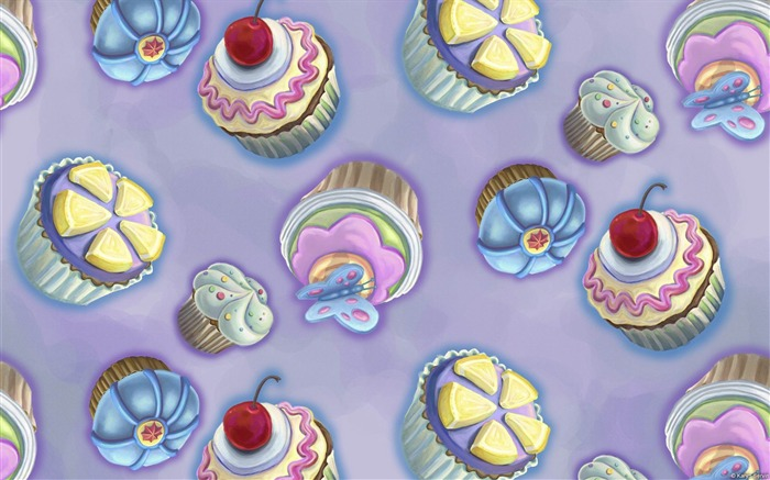 Cupcakes-Microsoft Windows Desktop Wallpaper Views:12028 Date:2/4/2013 1:26:18 AM