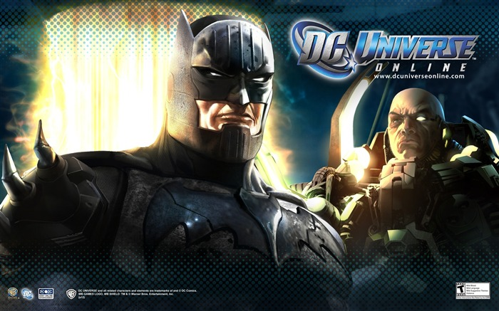 DC Universe Online Game HD Desktop Wallpaper Views:8418