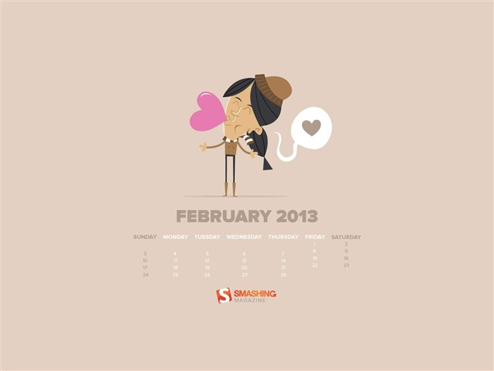 february 2013 calendar desktop themes wallpaper album list