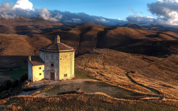 church in italy-World scenery HD Photography Wallpaper Views:3286