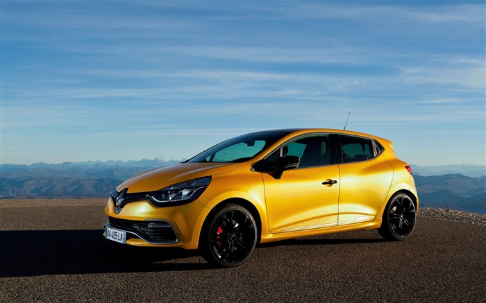 2013 Renault Clio RS 200 EDC Auto HD Desktop Wallpaper Views:10733