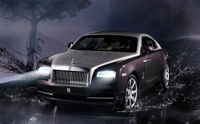 2014 Rolls-Royce Wraith Auto HD Desktop Wallpaper Views:13512