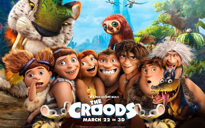 The Croods 2013 Movie HD Desktop Wallpaper Views:9486