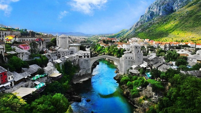 bosnia and herzegovina mostar-Cities landscape widescreen wallpaper Views:5154