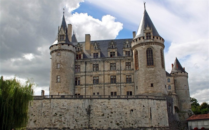 france castle building-World Travel HD photography Wallpaper Views:4265