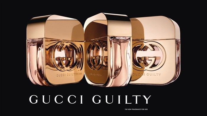 gucci guilty perfume for her-Brand advertising wallpaper Views:7842