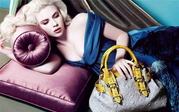 louis vuitton scarlett johansson-Brand advertising wallpaper Views:16740