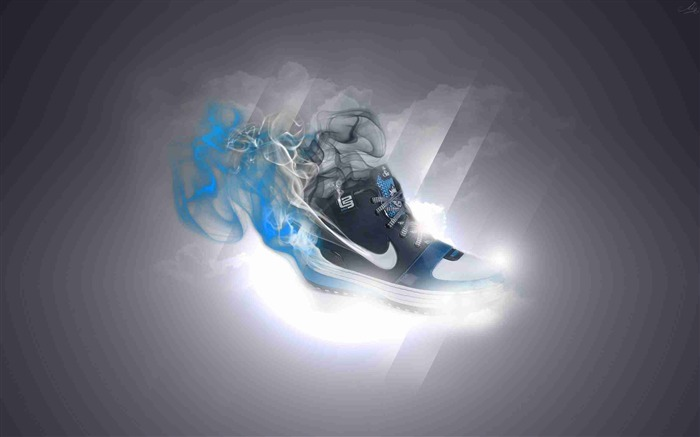 nike sneakers sports-Brand advertising wallpaper Views:5886