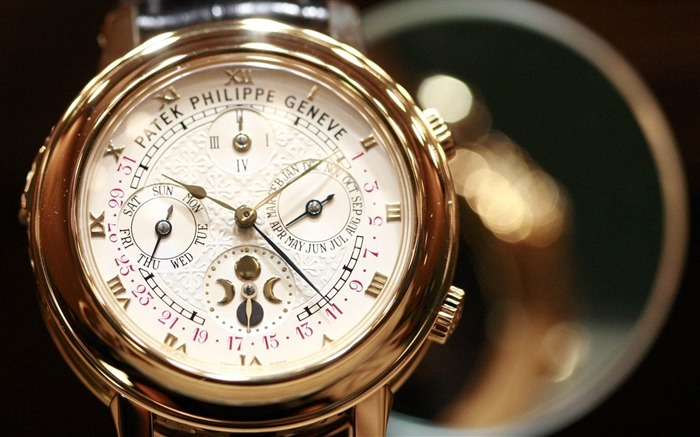 patek philippe geneve watch-Brand advertising wallpaper Views:5348