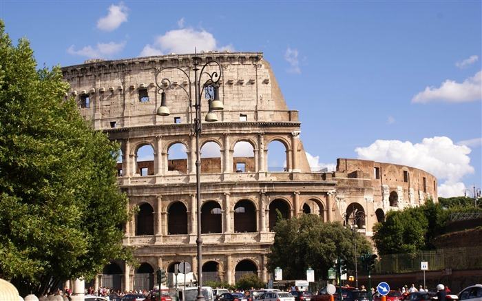 rome italy-Cities landscape widescreen wallpaper Views:3294