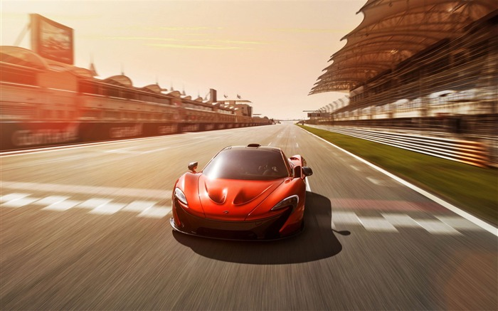 2012 McLaren P1 Concept Auto HD Desktop Wallpaper 03 Views:3792