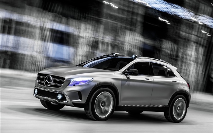 2013 Mercedes-Benz GLA Concept Auto HD Wallpaper Views:14239