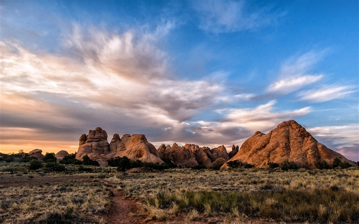 American Arches National Park Photography Desktop Wallpaper 02 Views:2731