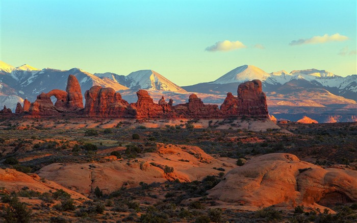 American Arches National Park Photography Desktop Wallpaper 03 Views:2975