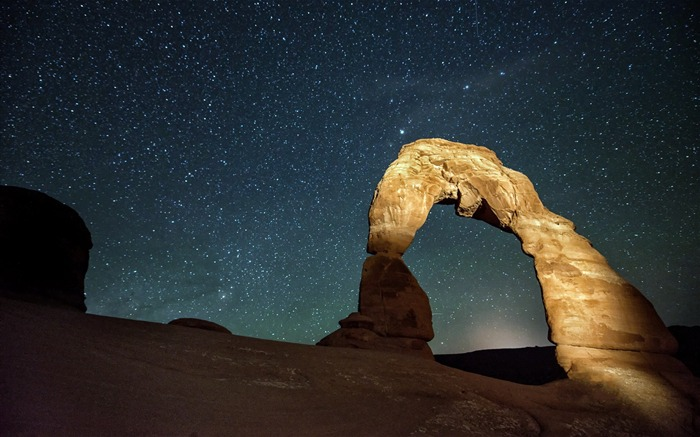 American Arches National Park Photography Desktop Wallpaper Views:7601