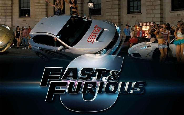 FAST AND FURIOUS 6 2013 Movie HD Desktop Wallpaper Views:10843
