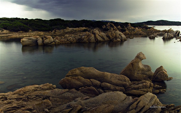 Sardinia coast-Microsoft official Windows theme wallpaper 03 Views:3360