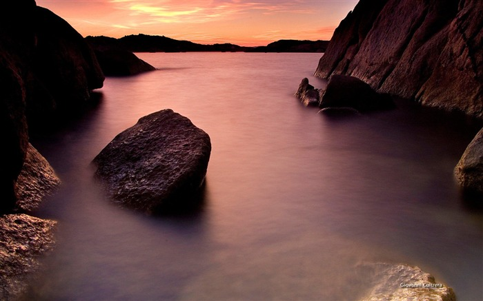 Sardinia coast-Microsoft official Windows theme wallpaper Views:12598