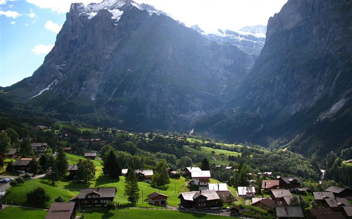 Switzerland City travel landscape photography wallpaper 02 Views:3493