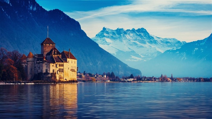 Switzerland City travel landscape photography wallpaper 09 Views:8057