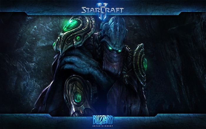 The 15th anniversary of the StarCraft series theme HD wallpaper 01 Views:3296