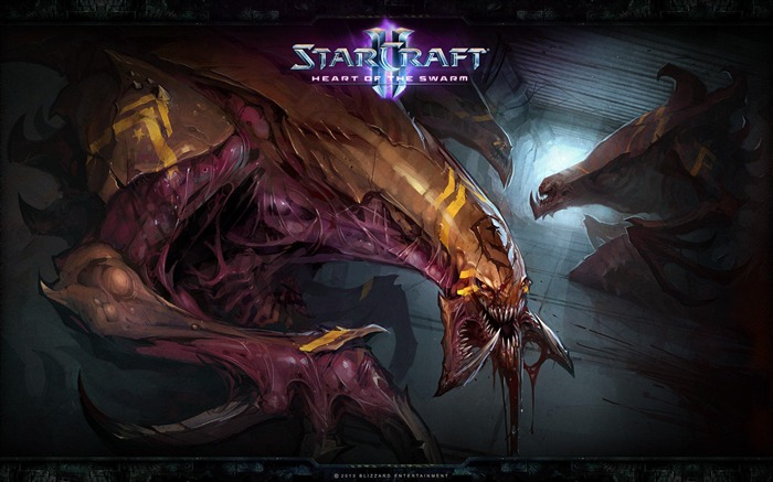 The 15th anniversary of the StarCraft series theme HD wallpaper 02 Views:2852