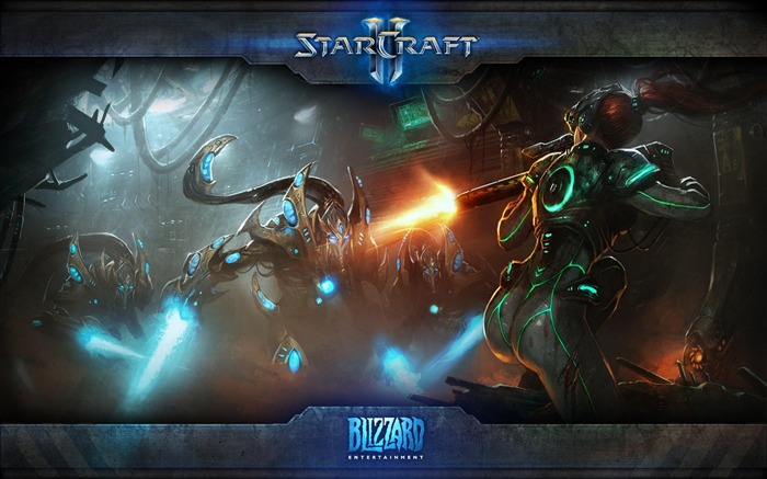 The 15th anniversary of the StarCraft series theme HD wallpaper 03 Views:3139