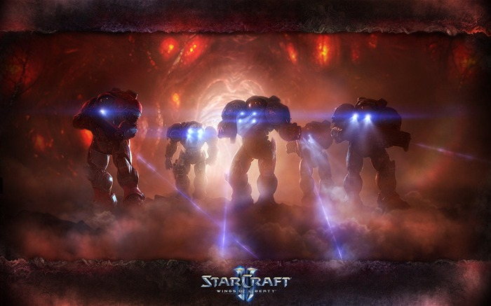 The 15th anniversary of the StarCraft series theme HD wallpaper 04 Views:3280