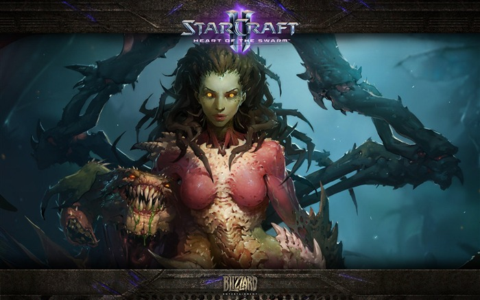 The 15th anniversary of the StarCraft series theme HD wallpaper 05 Views:3378
