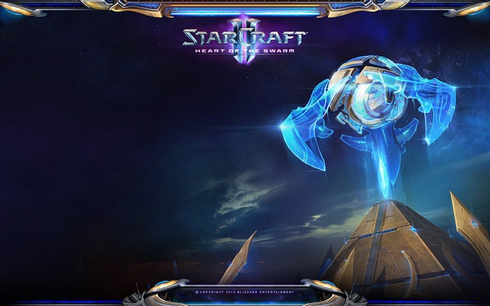 The 15th anniversary of the StarCraft series theme HD wallpaper 06 Views:3246
