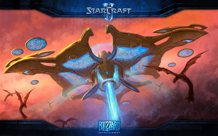 The 15th anniversary of the StarCraft series theme HD wallpaper 08 Views:2513