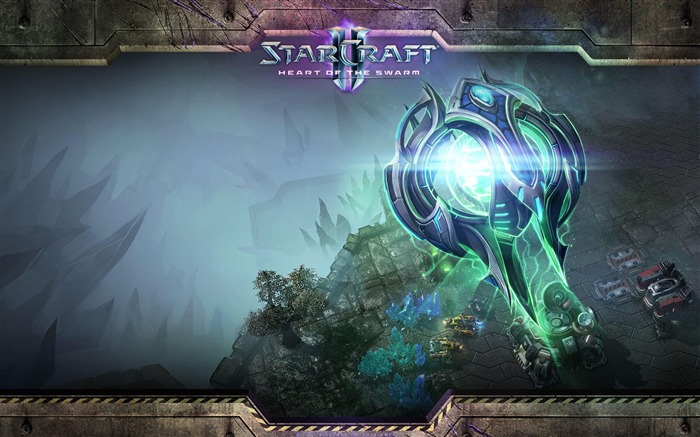 The 15th anniversary of the StarCraft series theme HD wallpaper 09 Views:2658