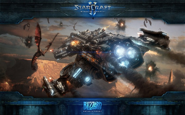 The 15th anniversary of the StarCraft series theme HD wallpaper 11 Views:4391
