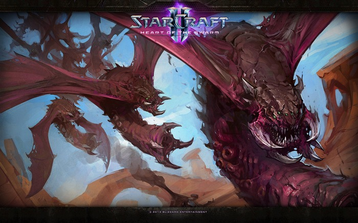 The 15th anniversary of the StarCraft series theme HD wallpaper 12 Views:3223