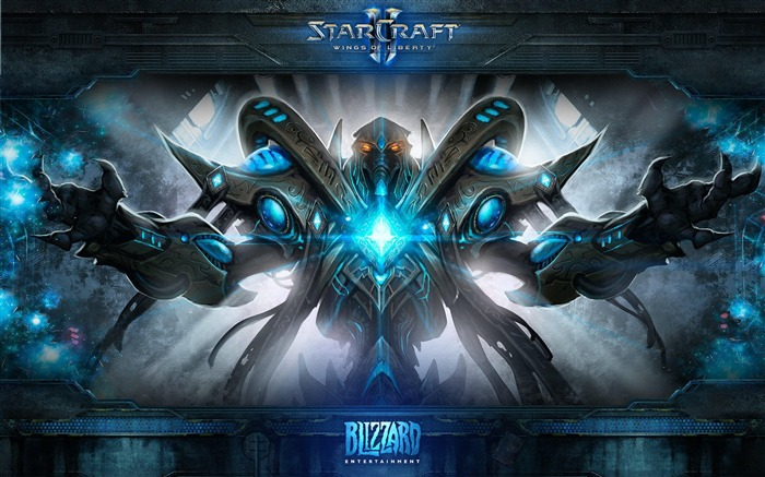 The 15th anniversary of the StarCraft series theme HD wallpaper Views:11479