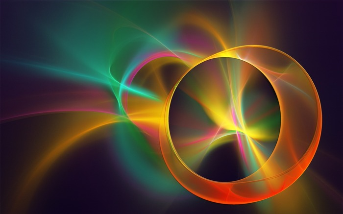 abstract background color circles-Art abstract design wallpaper Views:6479