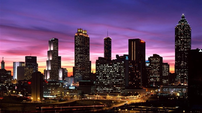 buildings panorama-City travel photography wallpaper Views:2577