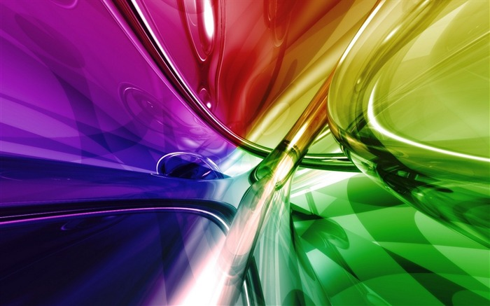 colorful lines shapes-Art abstract design wallpaper Views:4018